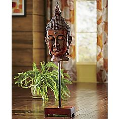 Buddha Statue On Stand from Seventh Avenue ® | D2707074