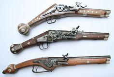 Radschloss pistols made by Nikolaus Leimbeck (1928 – 2003)