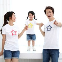 "Today's Hot Pick :Faded Star Print T-Shirt http://fashionstylep.com/P0000EHJ/funnylove09/out Providing you with the best in coordinated family clothing, or ""Family Look"" straight from the heart of fashion - Seoul, Korea! All our products are made from high quality materials and made with your family in mind. If you have questions about specific sizing, please feel free to contact us!"