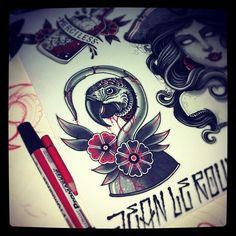 Cover up tattoos Cover Up Tattoos, Cool Tattoos, Chest Tattoo, I Tattoo, Traditional Tattoo Flash, Neo Traditional, Satanic Tattoos, Girls Cover Up, Tattoo Sketches