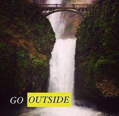 Explore. Multnomah Falls :)