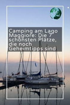 Camping Am See, Van Camping, Lago Maggiore Camping, Camper Life, Outdoor Camping, Van Life, Seasons, Vacation, Landscape