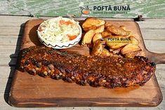 Costita de porc cu bere, frageda si picanta (la cuptor) Pork Rib Recipes, Kebab, Romanian Food, Cordon Bleu, Pastry Cake, Pork Ribs, Cookie Recipes, Lamb, Foodies