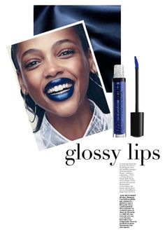 """Blue Gloss"" by indigo-summer ❤ liked on Polyvore featuring beauty"