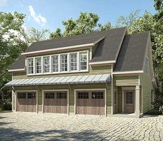 Garage House Plans With Apartments Garage Apartment Plans Carriage House Plan With 1 Car