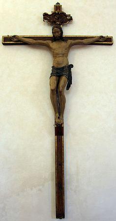 Cenacolo di Fuligno - Firenze - Benedetto da Maiano (attr.) - Crocifisso - 1490-1500 ca