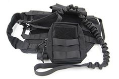 Taousa Tactical Dog Training Molle Vest Harness with Detachable Pouches + Military Tactical Dog Leash Black Size S Taousa http://www.amazon.com/dp/B017CP5MA8/ref=cm_sw_r_pi_dp_I4Wwwb0V3WS94