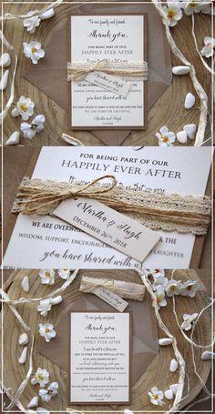Laser Cut Wedding Invitations, Wedding Invitation Wording, Wedding Stationery, Invites, Destination Wedding Themes, Wedding Planning, Wedding Book, Rustic Wedding, Formal Wedding