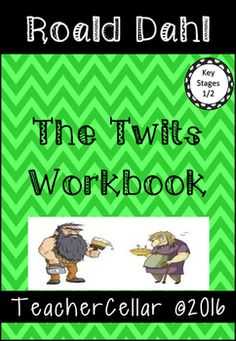 Book Challenge Roald Dahl's The Twits Drawing Activities, Grammar Activities, Roald Dahl The Twits, Imaginative Writing, Key Stage 1, Book Challenge, Differentiation, Literacy Centers, Book Reviews