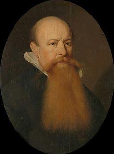 Aelbert Jansz. van der Schoor (fl. 1643–1662) Portret van een man met een lange rossige baard. Buste in ovaal, naar rechts.  Date1647DimensionsdragerHeight:61 cm (24 in) dragerWidth:46 cm (18.1 in)Current location  Rijksmuseum Amsterdam