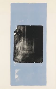 Robert Motherwell, The Black Douglas Stone, ed. 14/18 #prints #contemporary #art #masterprints #ZB #colorlithograph