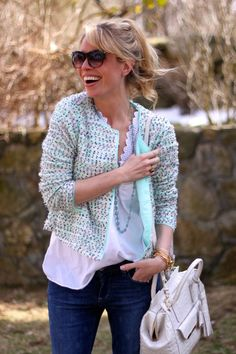 tjmaxx: Trending: Polka Dots and Pastels Style Scout Jordan Reid shows off her casual chic personal style. Read More