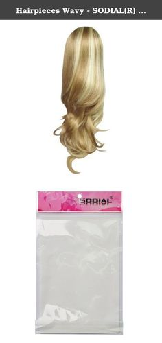 Hairpieces Wavy - SODIAL(R) Women's Ponytail Hairpieces Wavy Ponytail Hair Extensions Highlight Ponytail Extensions #K22THK613B Brown & Blonde Ponytail. * SODIAL is a registered trademark. ONLY Authorized seller of SODIAL can sell under SODIAL listings.Our products will enhance your experience to unparalleled inspiration. SODIAL(R) Women's Ponytail Hairpieces Wavy Ponytail Hair Extensions Highlight Ponytail Extensions #K22THK613B Brown & Blonde Ponytail size:40cm Model...