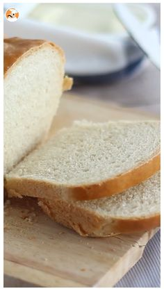You can make everything when you have sandwich bread at home, but if you don't, we show you how to make a homemade sandwich bread at home ! - Recipe Other :. Homemade Sandwich Bread, No Cook Meals, Food Videos, Sandwiches, Vegan Recipes, Brunch, Food And Drink, Favorite Recipes, Cooking