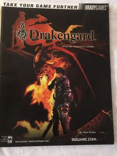 Drakengard Strategy Guide in very good condition no marks tears rips spine is in good condition nothing major Entertainment System, Entertaining, Xbox, Game, Products, Gaming, Toy, Funny, Gadget