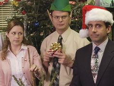 Ranking 'The Office' Christmas Episodes, Because Nobody Throws a Party Like Michael Scott Office Christmas Episodes, Christmas Humor, Merry Christmas, Best Office Episodes, Christmas Mood, Christmas Photos, Office Christmas Party, Holiday Parties, The Office Show
