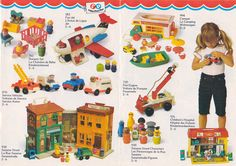 Catalogue Fisher Price vintage                                                                                                                                                      More