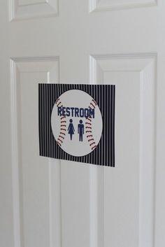 Sew In Love: Baseball Baby Shower                                                                                                                                                                                 Más