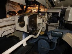 View of the main gun from the Tiger 1 in the Bovington collection.