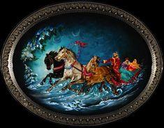 41 fantastiche immagini su russian traditional art for Arredamento artistico