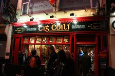 Tig Coili, Co. Galway for the best trad sessions; regular sessions, note tight fit as pub is small and narrow; Photo by kelly taylor