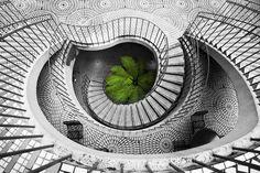 https://flic.kr/p/4vZBtp | Embarcadero Stairwell
