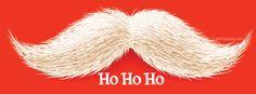 Mustache Ho Ho Ho Facebook Cover CoverLayout.com