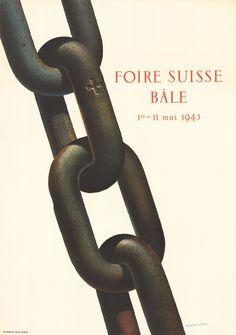 Herbert Leupin, Schweizer Mustermesse Basel, 1943