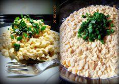 Pasta jajeczna Italian Recipes, Risotto, Salads, Cooking, Ethnic Recipes, Food, Polish, Kitchen, Vitreous Enamel