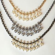 1000 Images About Pearls On Pinterest Pearl Necklaces Pearl Bracelets And Silver Pearls