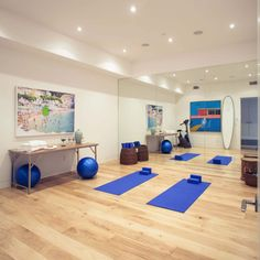 Yoga Room Colors 20 enchanting home gym ideas | gym, inspiration and exercise rooms