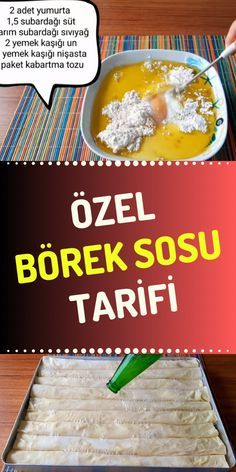 Turkish Recipes, Ethnic Recipes, Bread Dough Recipe, Turkish Kitchen, Gourmet Sandwiches, Savory Pastry, Iftar, Recipe For Mom, Diy Food