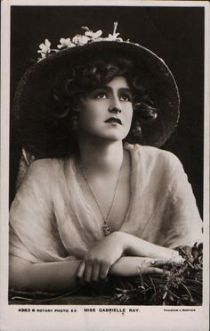 Gabrielle Ray postcard by Rotary Photo