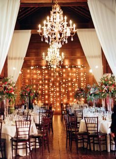 352 best the barns at wesleyan hills images barn, barn weddingbistro lights, chandeliers, and opulent sheer fabric decor! the barns at wesleyan hills, alicia ann photography, october 2015