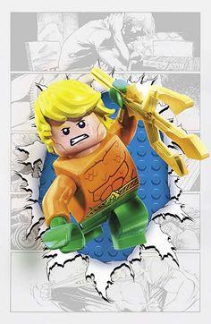 dc comics lego variant covers | DC Comics Lego Variant