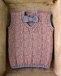 Strik til baby Archives - Side 3 af 5 - susanne-gustafsson. Crochet For Boys, Knitting For Kids, Knitting For Beginners, Free Knitting, Crochet Baby, Knit Crochet, Sweater Knitting Patterns, Knit Patterns, Toddler Dress