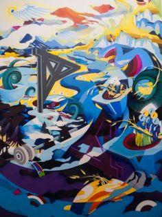 "Saatchi Art Artist Jakub Reken; Painting, ""Žito"" #art"