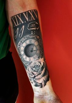 Favorite (why it's in diy) ink tattoos, sleeve tattoos и wei Armor Tattoo, Leg Tattoo Men, Leg Tattoos, Body Art Tattoos, Sleeve Tattoos, Watch Tattoos, Time Tattoos, Weird Tattoos, Tattoos For Guys