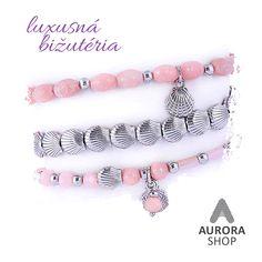 Antialergická, luxusná bižutéria #luxusnabizuteria #bizuteria #aurorashop #jewellery #naramky Aurora, Beaded Bracelets, Personalized Items, Shopping, Jewelry, Fashion, Moda, Jewlery, Jewerly