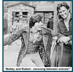 Bobby Sherman and Robert Brown from Here Come The Brides