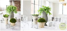 Loft 310 Rustic Greenery Tablescapes- Medium Collection.