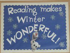 Winter Reading Display