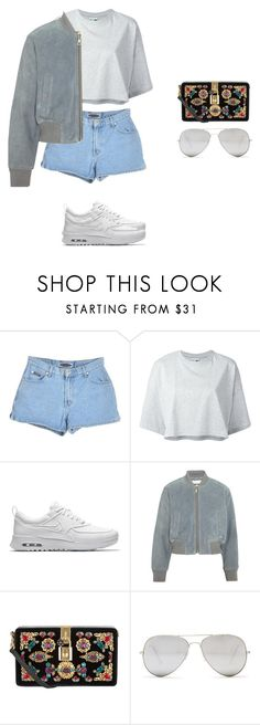 """guilty conscience"" by xoxotiffvni ❤ liked on Polyvore featuring Puma, NIKE, See by Chloé, Dolce&Gabbana and Sunny Rebel"