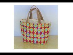 簡単!すべて100均の材料でバッグを作りましたI made a tote bag with all 100yen shop material - YouTube