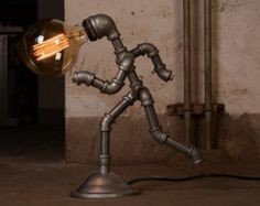 Lighting Designer industriale di EBE Steampunk di EmmasByEmma
