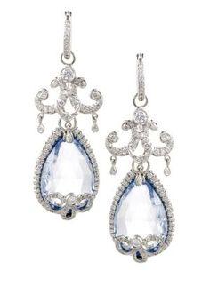 Platinum and Diamond Aquamarine by lucia