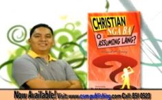 """Christian Nga Ba O Assuming Lang? This book was not intended to hurt anyone nor to specifically pin point people. However, if I have to describe this book in 4 words, it would be """"slap in the face"""", slap in the face of hypocrites. It is a very direct book that fully describes its title. http://thedisciplers.com/christian-nga-ba-o-assuming-lang-a-book-review/"""
