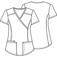 Solid Scrub Tops For Women I Solid Color Nursing Uniforms Scrubs Uniform, Uniform Shirts, Work Uniforms, Stylish Scrubs, Cherokee Woman, Greys Anatomy Scrubs, Womens Scrubs, Medical Scrubs, Nursing Dress