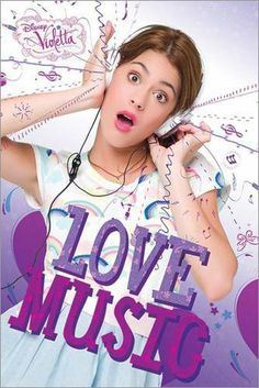 Poster Violetta - Love Music - amazon