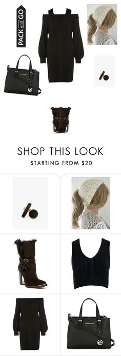 """""""Untitled #219"""" by amory-eyre ❤ liked on Polyvore featuring SOKO, Rachel Zoe, Sans Souci, River Island and MICHAEL Michael Kors"""